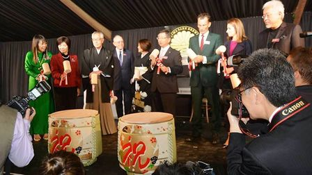 Dojima Sake Brewery opens at Fordham Abbey. It is the UK's first sake brewery. PHOTO: Mike Rouse