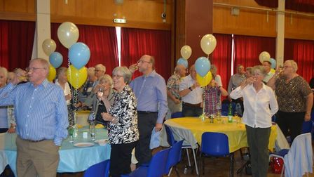 Ely U3A for their tenth anniversary party