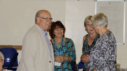 The University of the Third Age, U3A, celebrate its 10th anniversary in Ely.