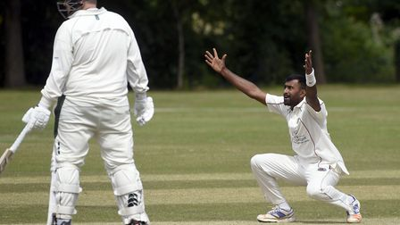 Saranga Rajaguru has been a star turn for March Town during his first season with the club. Picture: