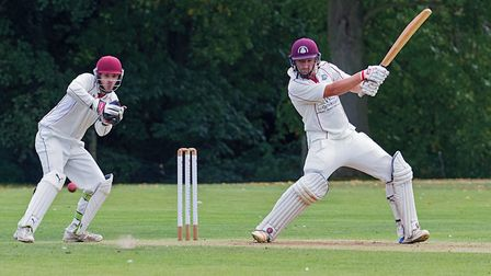 March Town captain Tyler Phillips hit a half-century in their season-ending success against Waresley