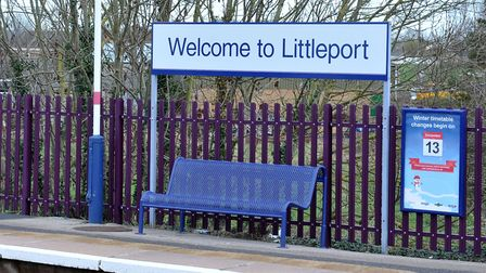 Network Rail have submitted plans for a platform extension at Littleport railway station. PHOTO: Ste