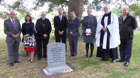A special service to commemorate a truly great Fen hero took place in Guyhirn. It took place to comm