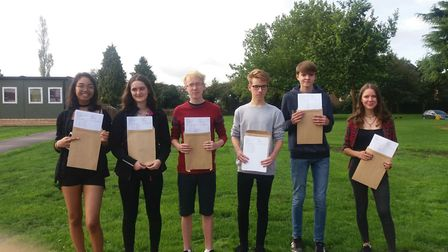 GCSE success stories at Witchford Village College