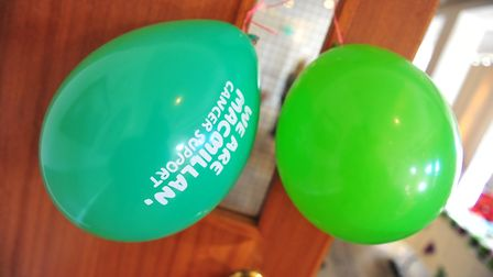 Macmillan Cancer Support coffee morning at the Oliver Cromwell Hotel in March on Friday, September 2