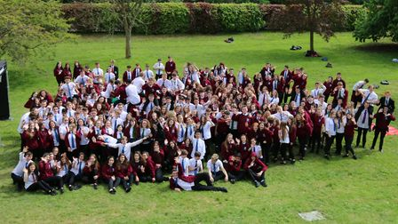 From aspirational students to inspirational alumni - Year 11 leavers at Soham Village College 2018.