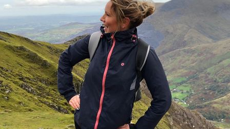 Holiday With Us' managing director Christina Fitzpatrick has raised more than £1,000 for a the Tag R