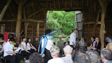 Shakespeare-event-at-the-Tithe