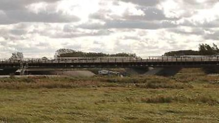 The view of the Ely Southern Bypass. Picture: Cambs County Council
