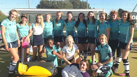 The King's Ely U14A hockey girls are set to represent the county at a regional tournament next month