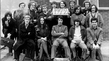 Jeremy Paxman when he was editor of the Varsity magazine in Cambridge in 1972.