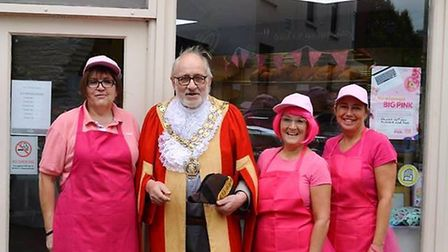 Boswell bakery in Ely raises money for breast cancer charity