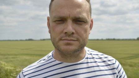 Jon Lawrence, a judge of the Fens short story competition