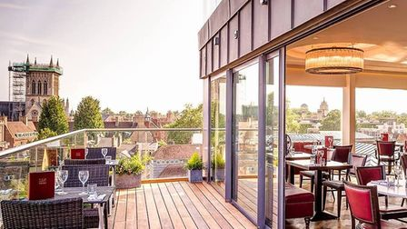 Six Cambridge offers breath-taking views across situated on the 6th floor at The Varsity Hotel and S