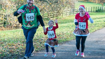 Ely 5K Festive Run. Places are open for runners to rasie money for the Arthur Rank Hospice. PHOTO: F