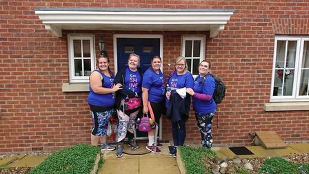 Five Fenland woman raised £3,000 for Cancer Research UK by waking 26.2 miles - the length of a marat