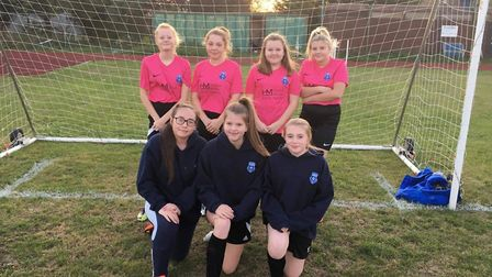 The March Park Rangers Youth under 14 girls team is seeking two more players to enable the girls to