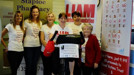 Staploe Medical Centre fund raising challenge: Soham Strong Mums supporting the event