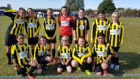 Successful weekend for Soham United Youth Football Club as the boys and girls team win both games. P
