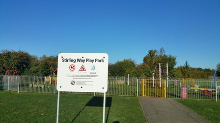 A £57,241 funding grant will improve Stirling Way play area in Sutton. Picture: SUTTON PARISH COUNCI