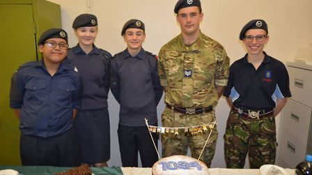 Ely Air Cadets open evening was a roaring success as Mayor Mike Rouse also paid a visit. Picture: MI