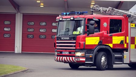 Cambridgeshire firefighters were called to 320 fires in the open during the extreme hot weather, a r