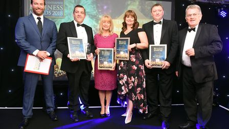 Fenland Business Awards Business person of the year Shaun Hindle, College of West Anglia with final