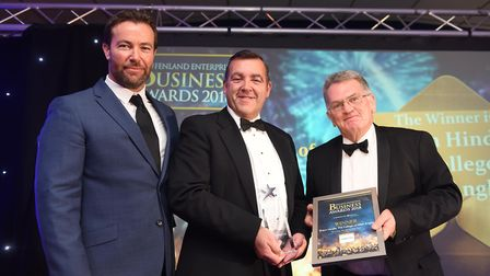 Fenland Business AwardsBusiness person of the year Shaun Hindle, College of West Anglia