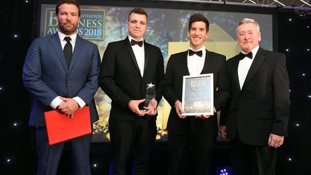 Fenland Business AwardsCommercial Business in the Community winner Metalcraft and finalists