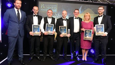 Fenland Business Awards Winner of Small Business of the Year Swann Edwards Architecture Limited wit