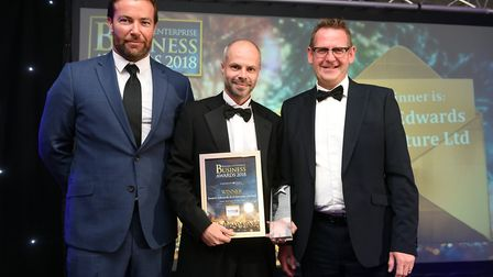 Fenland Business AwardsWinner of Small Business of the Year Swann Edwards Architecture Limited
