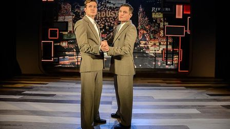Gavin & Stacey's Mathew Horne and Downton Abbey's Ed Speleers starring in Rain Man at the Cambridge