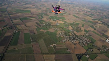 Alys Turner, Scout leader at 1st Doddington Scout Group, jumped from 13,000 feet to raise much-neede