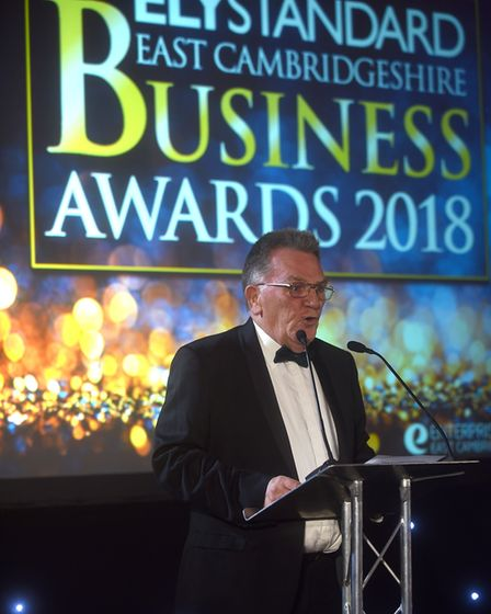 Ely Standard East Cambs Business Awards 2018 and a welcome speech by Editor John Elworthy