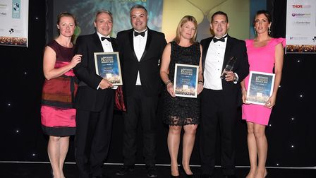 Ely Standard East Cambs Business Awards 2018Medium Business of the Year winner ST1 Group Ltd and fi