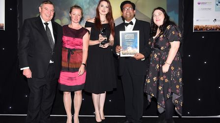 Ely Standard East Cambs Business Awards 2018Retailer of the Year winner OOSTOR.com