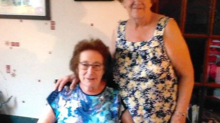 Yvonne Dockerill and Patricia Canham became lifelong friends of Ray and Mary Neal.
