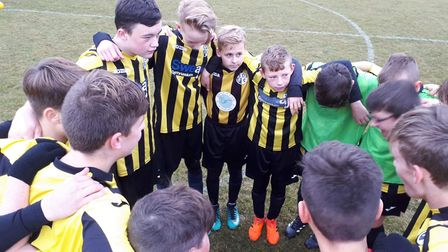 Soham U14 boys enjoyed another win at home, playing against Saffron Walden Whites. Picture: SUBMITTE