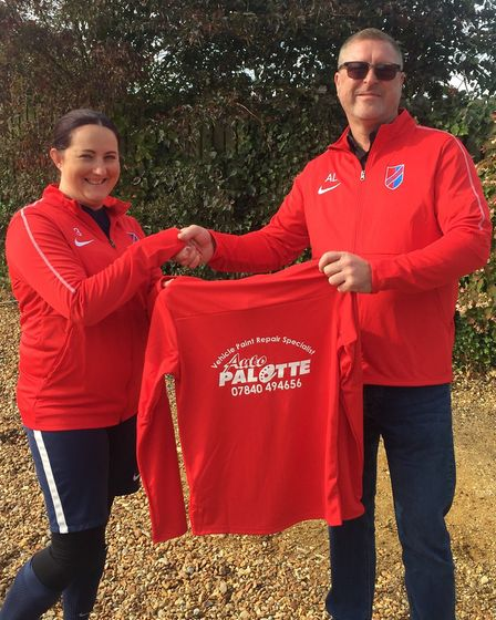 Results: Tough match for Fenland ladies football team. Picture: Submitted