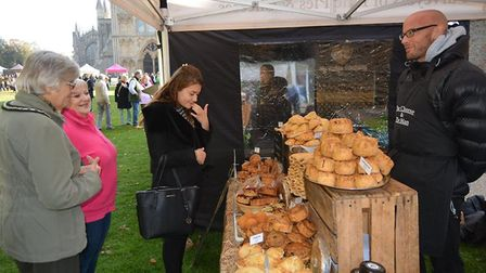 Crowds turned out in the autumn sunshine to celebrate apple day in Ely. The city has hosted its own
