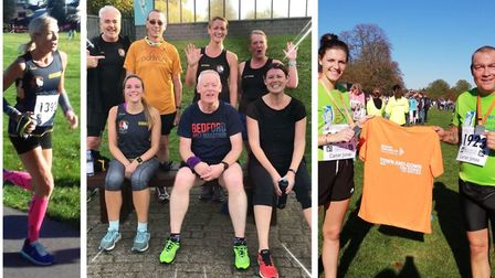 Part of the weekend activities of the Three Counties Running Club