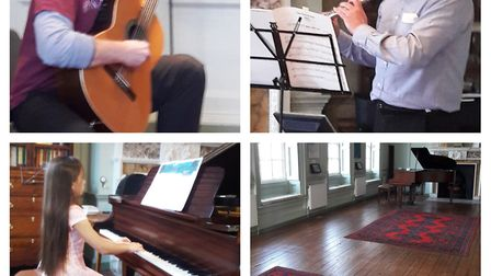 A free all-day concert will be held on Saturday November 3 to raise money to restore the grand piano