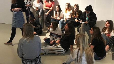 King's Ely students enjoy a trip to London's Victoria and Albert (V&A) Museum