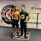 Fenland boxing star Jordan Gill (pictured left) is preparing to fight Ryan Doyle for the Commonwealt