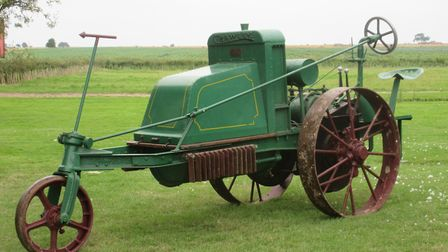 1920 Crawley Agrimotor which sold for double its presale estimate at £67,725. Picture: CHEFFINS