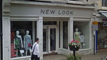 New Look Ely will be one of 60 stores to close across the UK. Picture: GOOGLE EARTH.