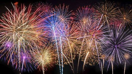 Ely fireworks 2018 is on Cherry Hill on Saturday November 10.