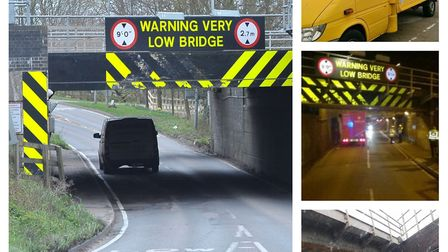 It was struck 32 times in the past year but the Stuntney Road rail bridge at Ely should soon lose it