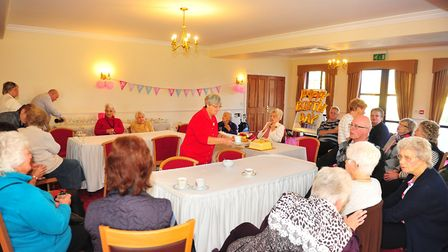 Gladys Kightly celebrated her 102nd birthday with family and friends at Askham House Care Home in Do