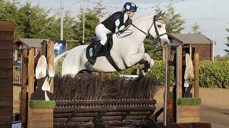Kings Ely equestrian team made school history at the national equestrian championship. Picture: KING